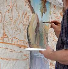SLO : Stage «fresque à la chaux»
