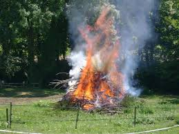 Interdiction de brûlage des déchets verts et de l'écobuage