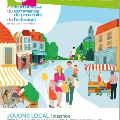 La journée nationale du commerce de proximité de l'artisanat et du centre -ville