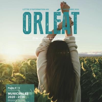 La nouvelle lettre d'information d'Orléat