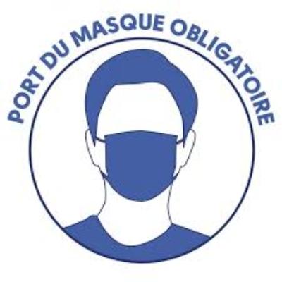 Port du masque obligatoire aux abords de l'école