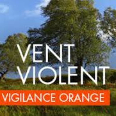 Aujourd'hui Alerte Vent violent