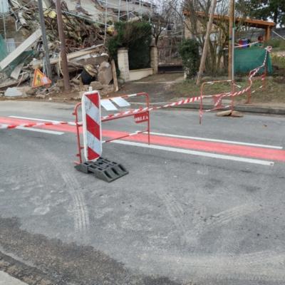 Infos : Route barrée D224